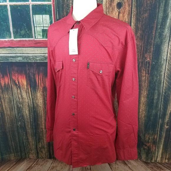 d90aee8f Cinch Shirts   Mens Snap Up Western Shirt Xxl   Poshmark